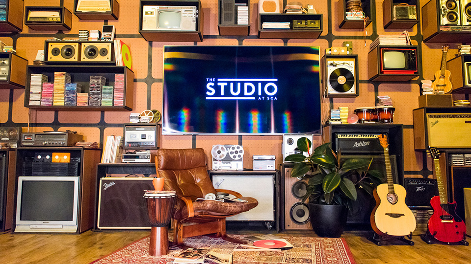 SCA's The Studio offers BRANDSOUND in partnership with Veritonic
